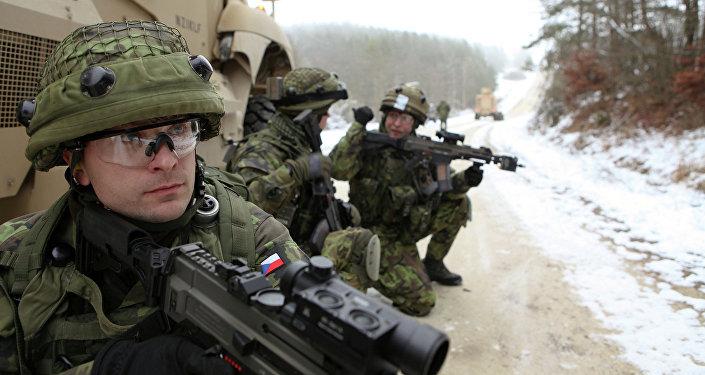 Soldados checos
