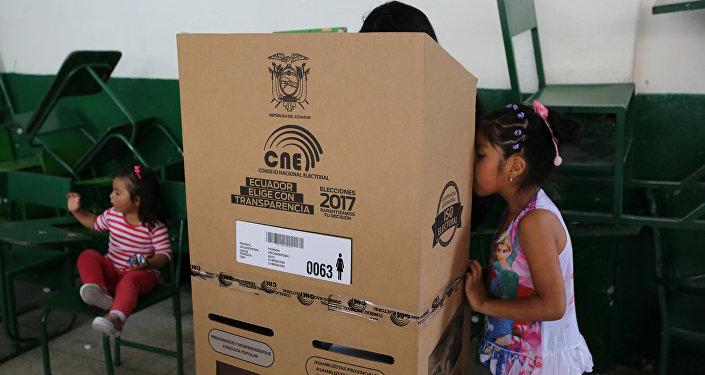 Elecciones en Ecuador (archivo)