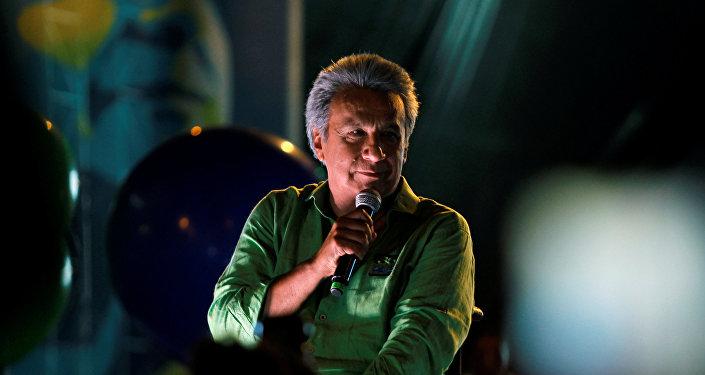 Lenín Moreno, candidato a la Presidencia de Ecuador