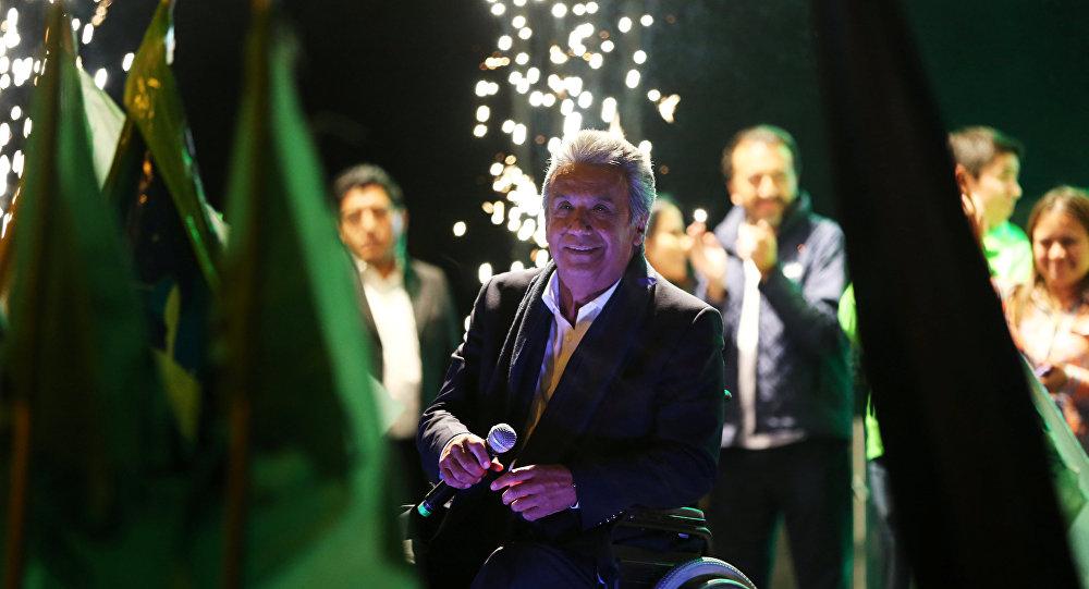 Lenin Moreno, candidato de Alianza País