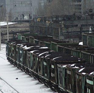 Transporte ferroviario en Donetsk