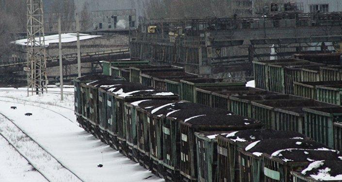 La situación con carbón en Donbás