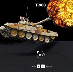 El tanque T-90S