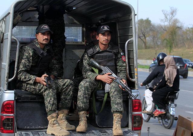 La policía de Pakistán (archivo)