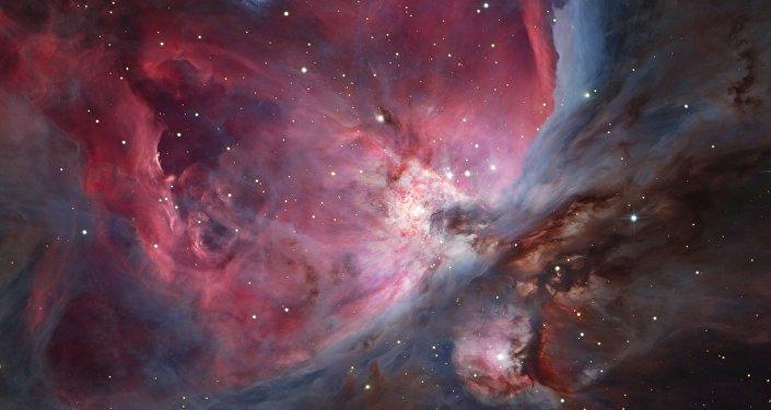 Cúmulo del Trapecio y su nébula (imagen referencial)