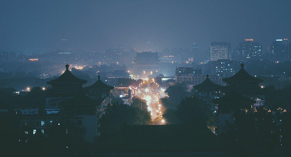 Una ciudad en China