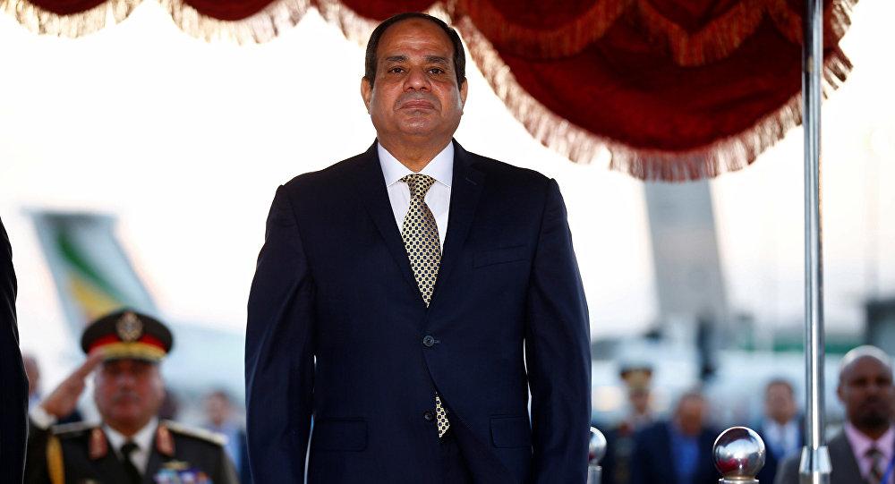Abdelfatah Sisi, presidente de Egipto (archivo)