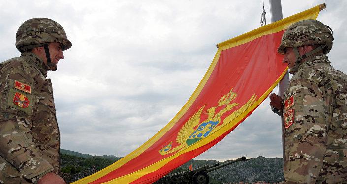 Soldados del Ejército montenegrino (archivo)