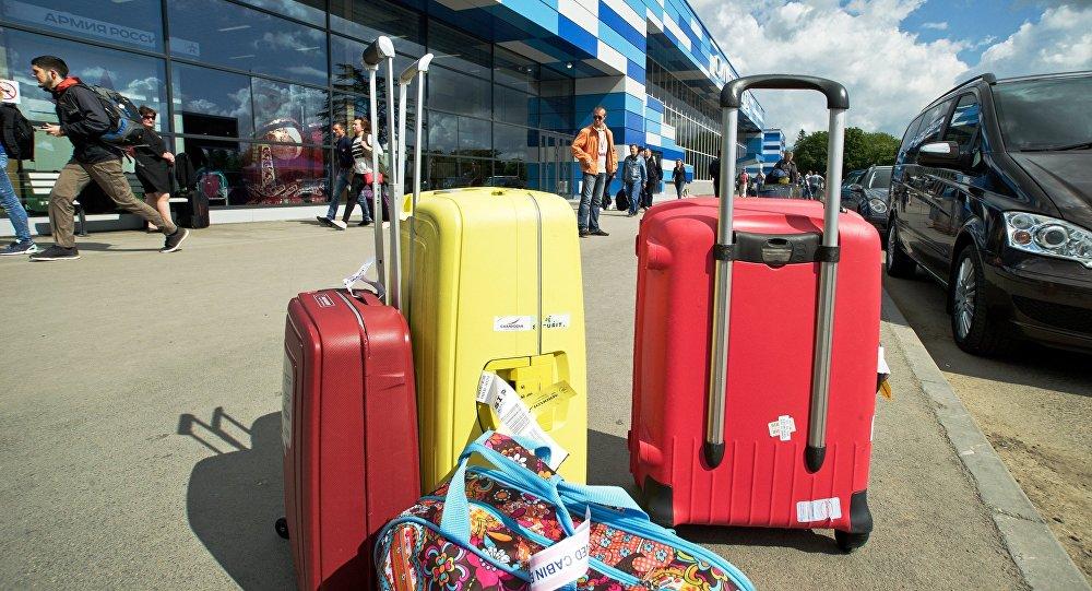 El aeropuerto internacional de Simferópol