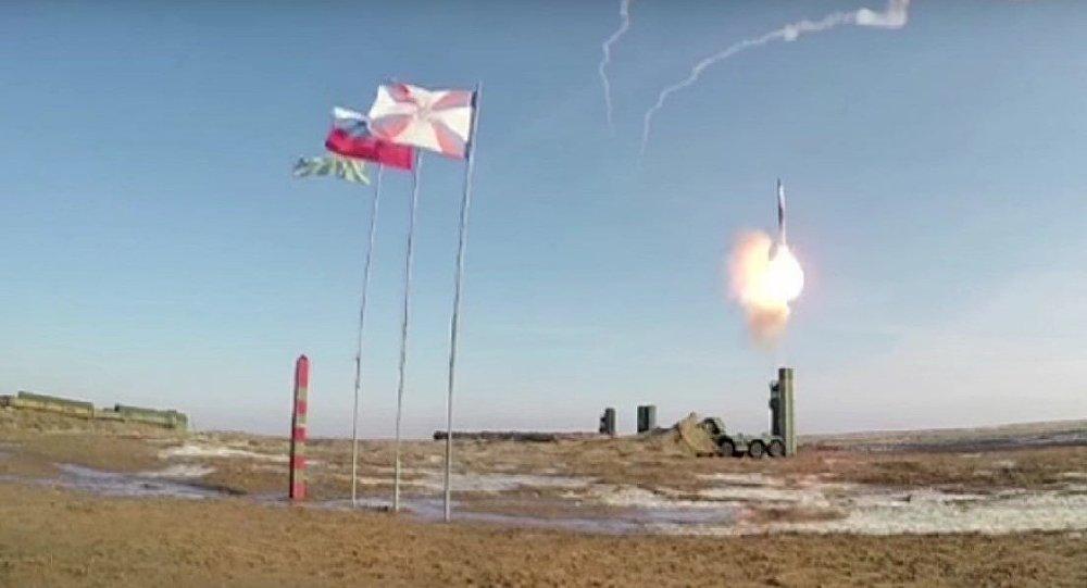 Vídeo: el múltiple lanzamiento de los misiles del S-400