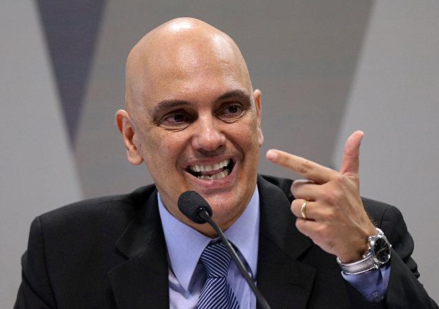 Brazil's Justice Minister Alexandre de Moraes
