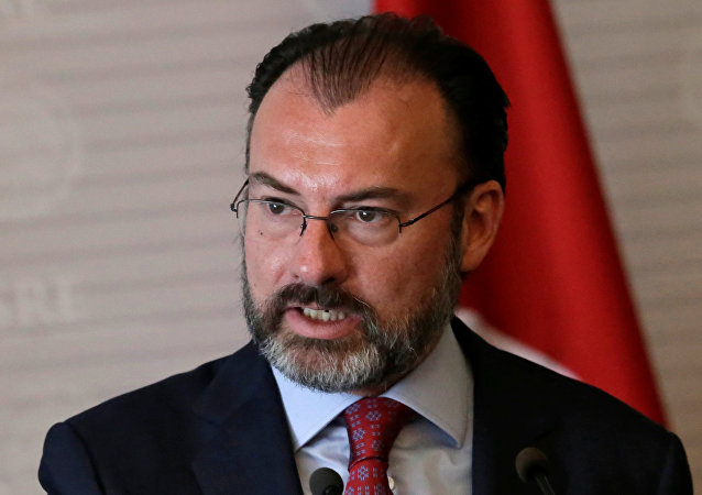Luis Videgaray, canciller mexicano