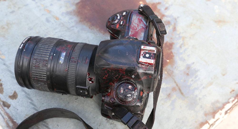 Una cámara (imagen referencial)