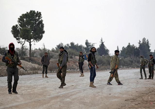 Las milicias sirias (archivo)
