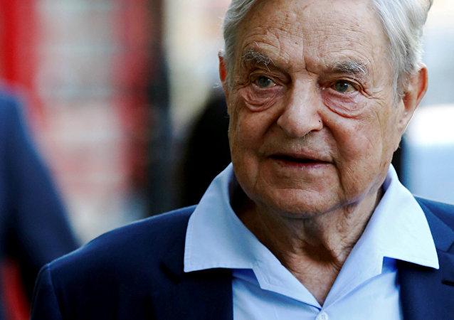 George Soros, multimillonario estadounidense (archivo)