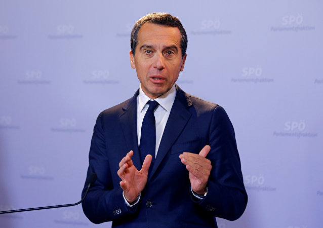 Christian Kern, canciller federal de Austria