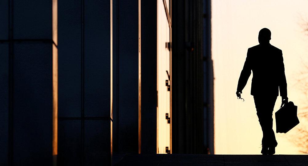Un empleado llega a su oficina (imagen referencial)