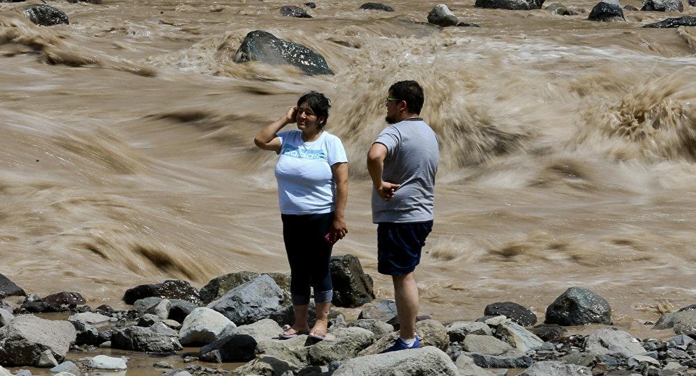 Onemi confirma 372 personas aisladas en la zona central — Aluviones