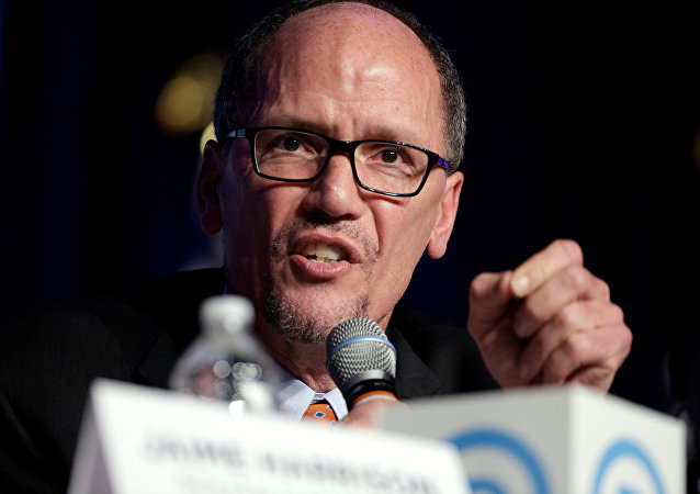 Tom Perez, presidente del Partido Demócrata de EEUU