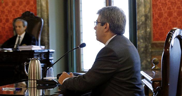 Francesc Homs, exconsejero del Gobierno catalán