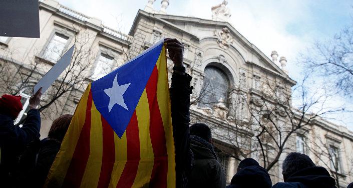 Partidarios de la soberanía de Cataluña