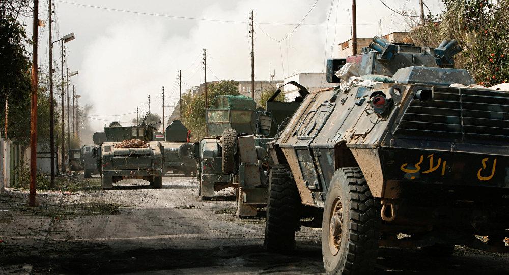 El Ejército iraquí en Mosul