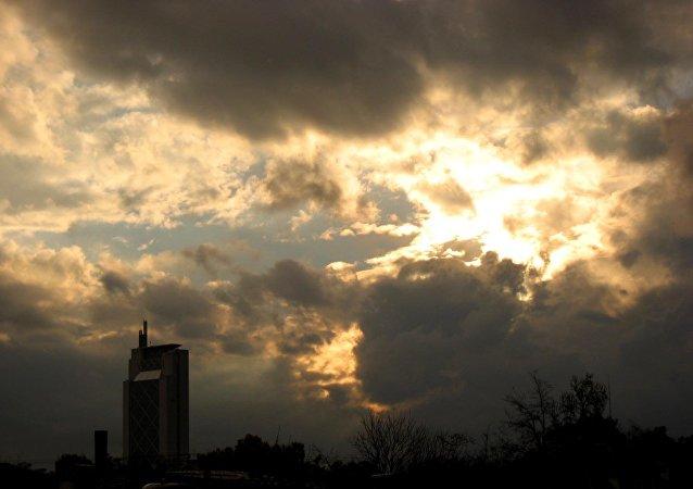 El cielo fatídico