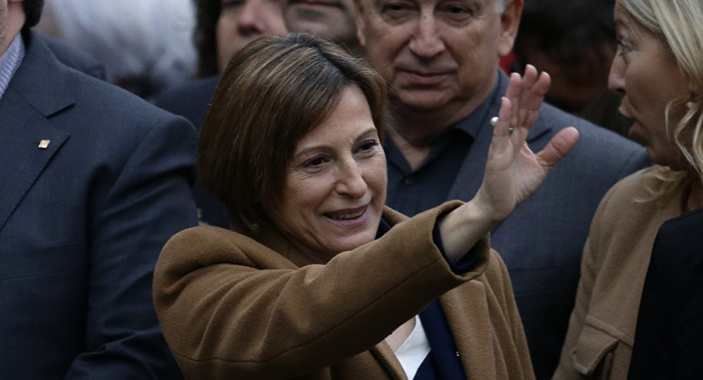 Carme Forcadell, la expresidenta del Parlamento de Cataluña