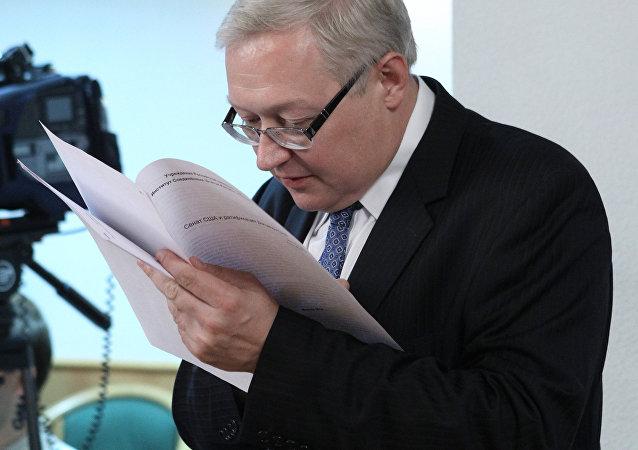 Serguéi Riabkóv, el viceministro de Asuntos Exteriores de Rusia