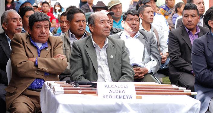 Alcalde de la aldea Xequemeya