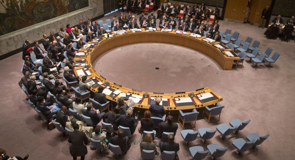 Reunión del Consejo de Seguridad de Naciones Unidas (archivo)