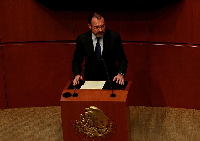 Canciller de México Luis Videgaray (archivo)
