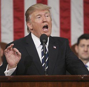 El primer discurso de Donald Trump en el Congreso de EEUU