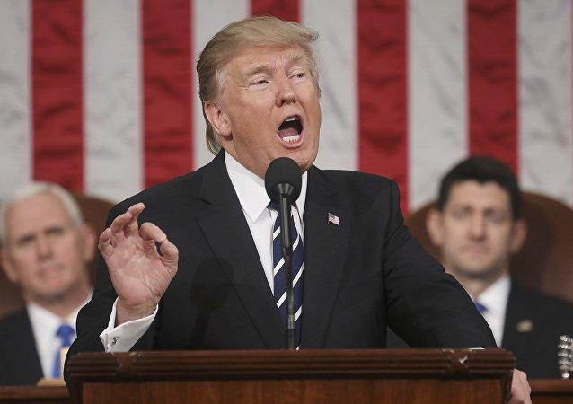 Presidente de EEUU, Donald Trump