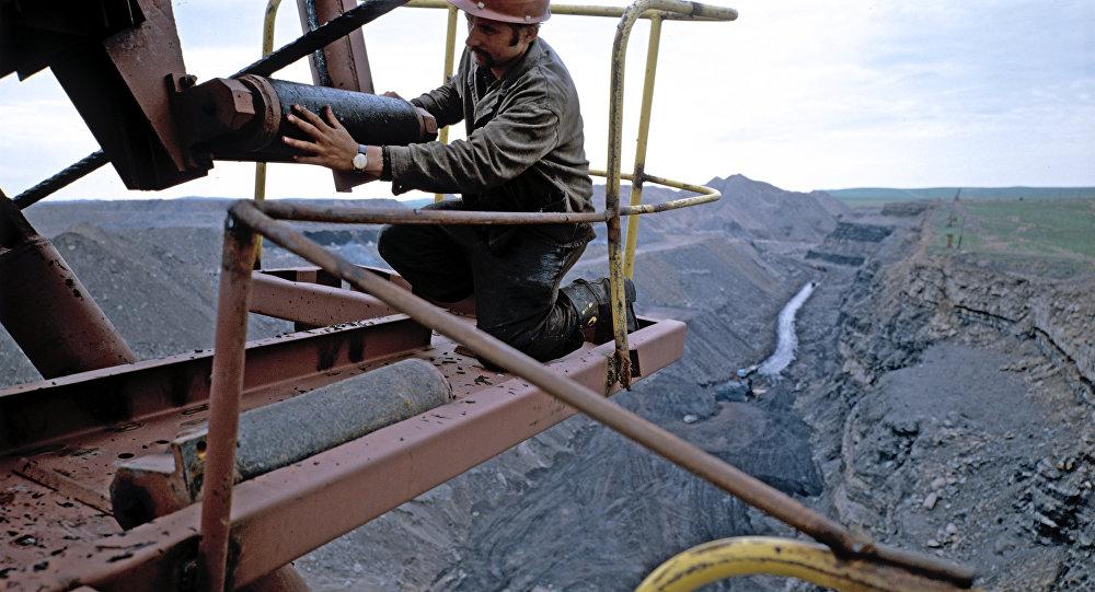 Cuenca de carbón en Rusia (archivo)