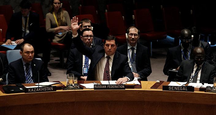 Vladímir Safronkóv, el vicembajador ruso ante la ONU