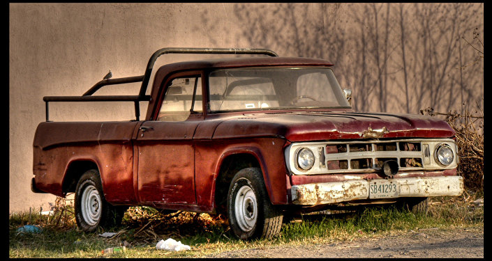 Una camioneta
