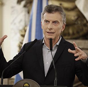 Mauricio Macri, presidente de Argentina (archivo)