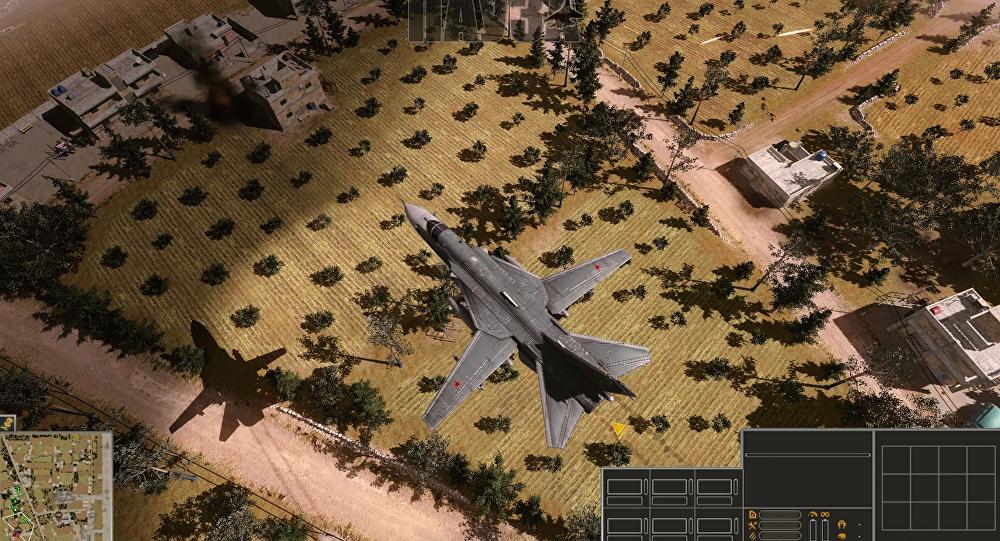 Captura de pantalla del videojuego 'Syrian Warfare'