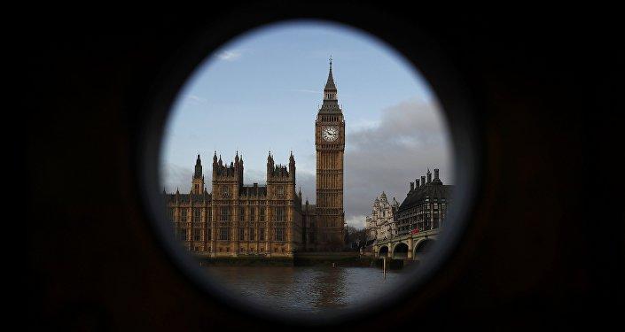 El Palacio de Westminster, Londres
