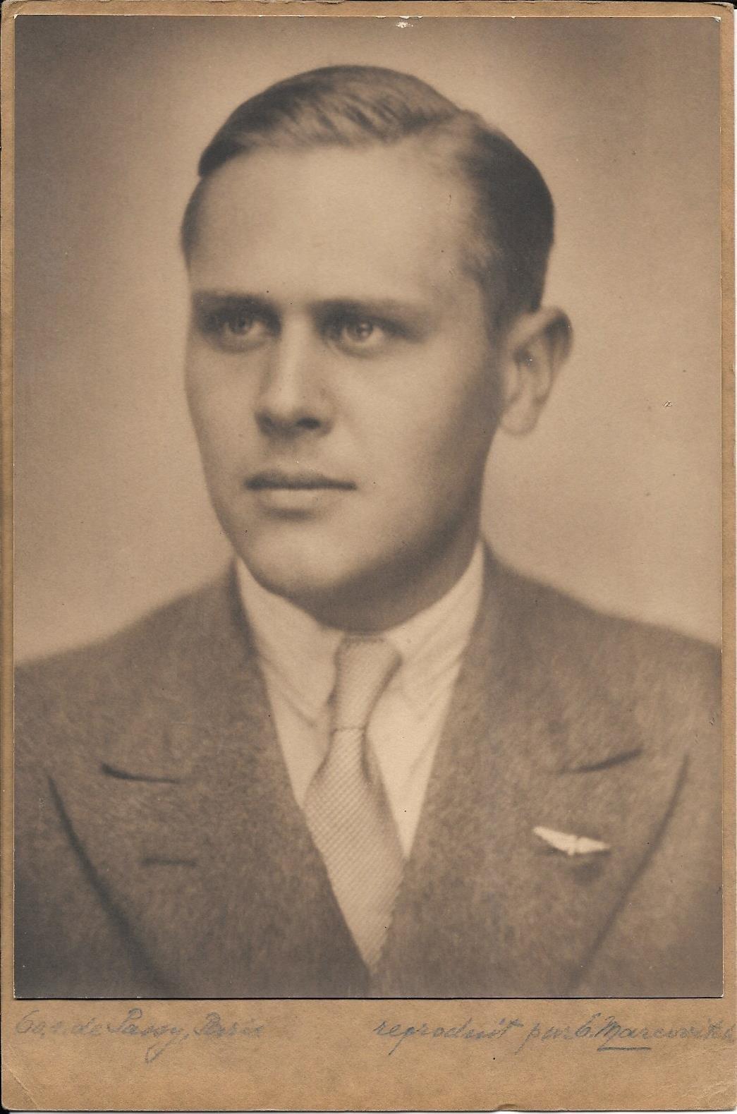 Nikita Wladimirovitch Dobrynin, el padre de Eugenio (1932)