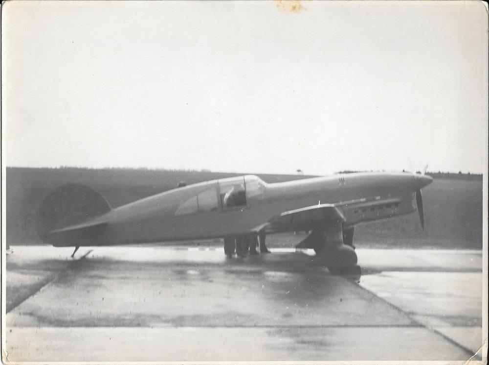 El avión Caudron C.450, ganador de la Coupe Deutsch de la Meurthe 1934