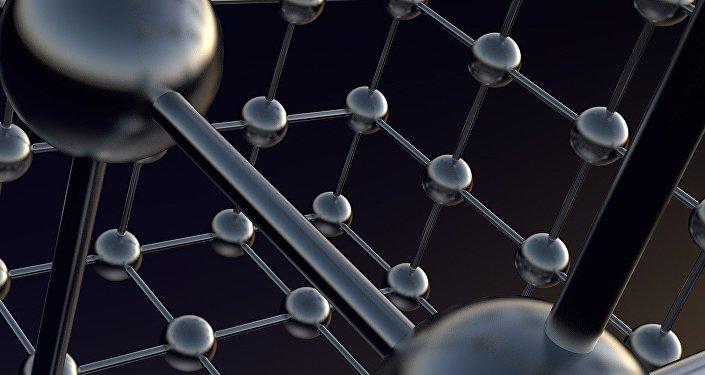 Ilustración gráfica de la estructura cristalina de los átomos