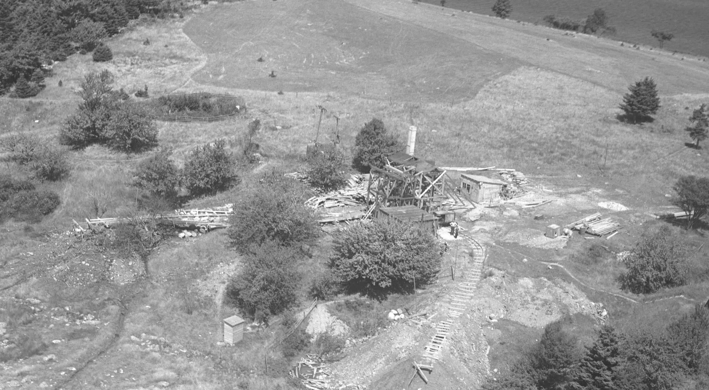 La búsqueda de tesoros en la isla de Oak, en 1931