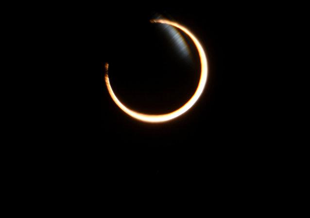 El eclipse anular