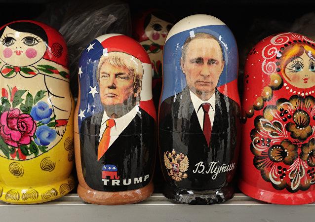 Tradicionales muñecas rusas (archivo)