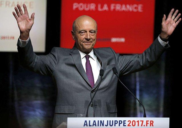 Alain Juppé, ex primer ministro francés y alcalde de Burdeos