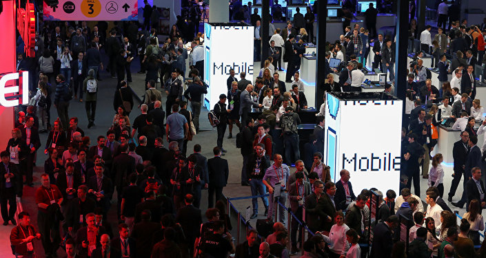 Mobile World Congress, Barcelona, España (Archivo)