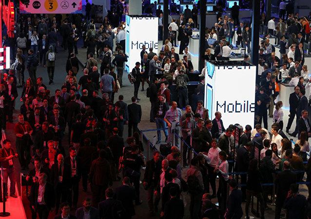 Mobile World Congress, Barcelona, España (Archivo)