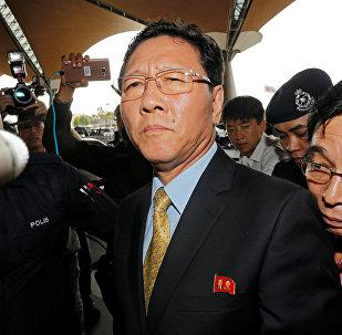 Kang Chol, el embajador de Corea del Norte en Kuala Lumpur